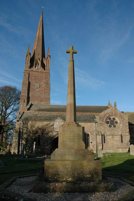 The War Memorial, Weobley