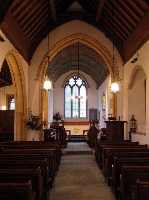 St Edmund, Swanton Novers, Norfolk - East end