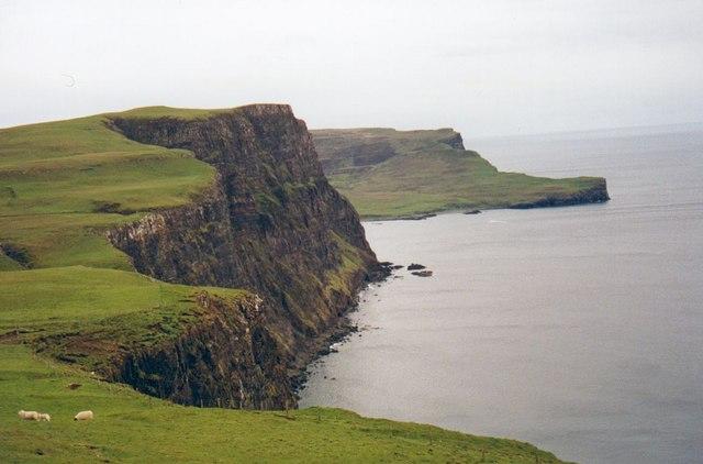 Cliffs at Ramasaig, looking south.