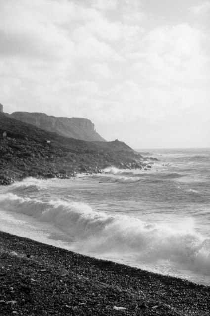 Beach at Chiswell, Portland.