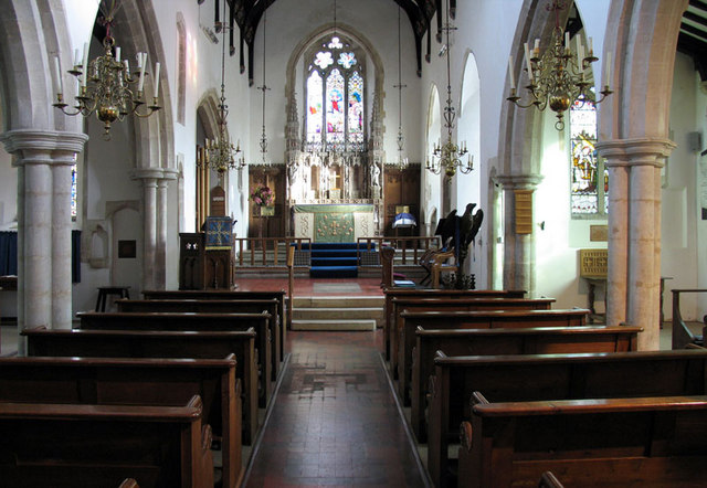 St Andrew, Letheringsett, Norfolk - East end