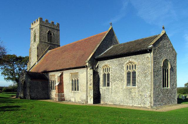 All Saints, Bodham, Norfolk