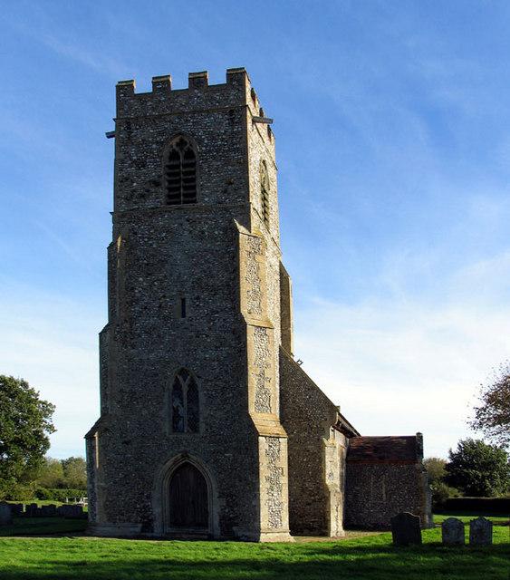 All Saints, Bodham, Norfolk - Tower