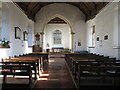 TG1238 : All Saints, Bodham, Norfolk - East end by John Salmon