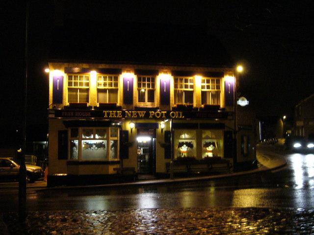 The New Pot Oil pub,  Wrenthorpe