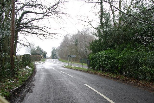 Rocks Lane - A26 Junction