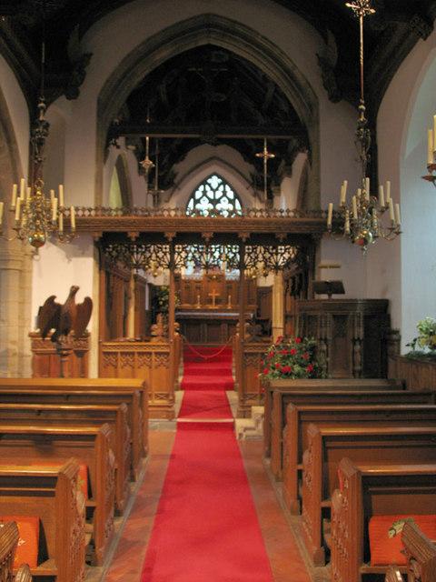 St Martin, Glandford, Norfolk - East end