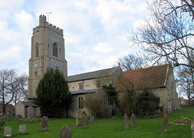 St Andrew & St Mary, Langham, Norfolk