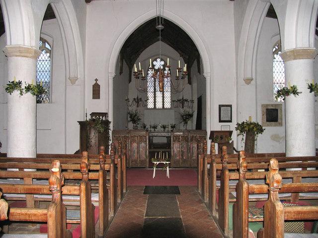 All Saints, Morston, Norfolk - East end