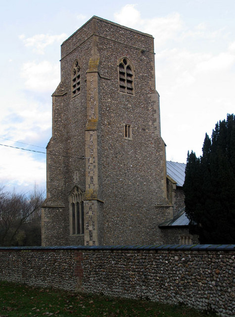 St Margaret, Saxlingham, Norfolk - Tower