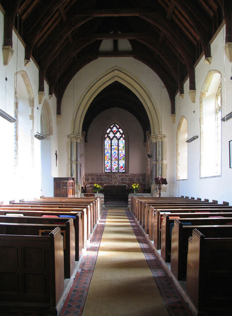 St Mary, Gunthorpe, Norfolk - East end