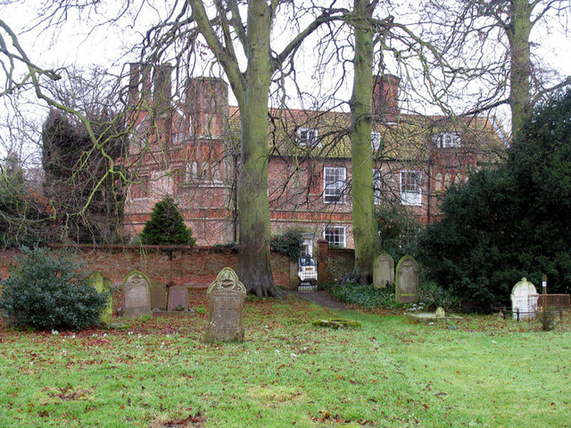 House from churchyard of St Mary, Great Snoring, Norfolk