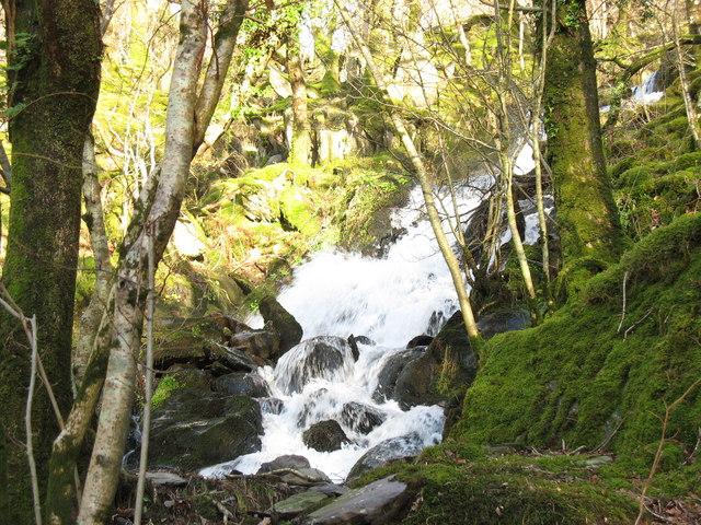 Rapids on Afon Fachwen