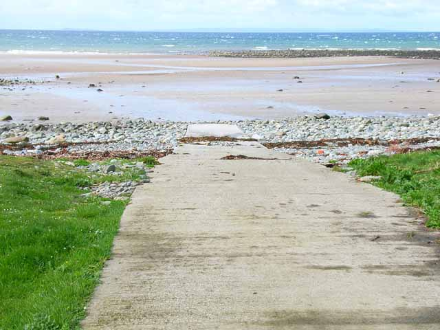 Slipway just north of Portwilliam