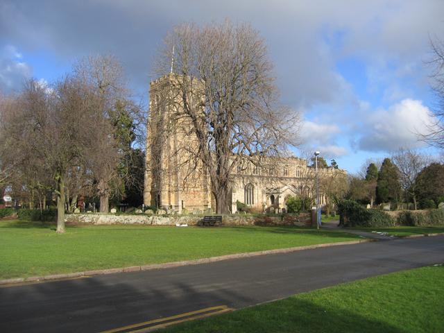 Parish church, Eaton Socon, Hunts/Cambs