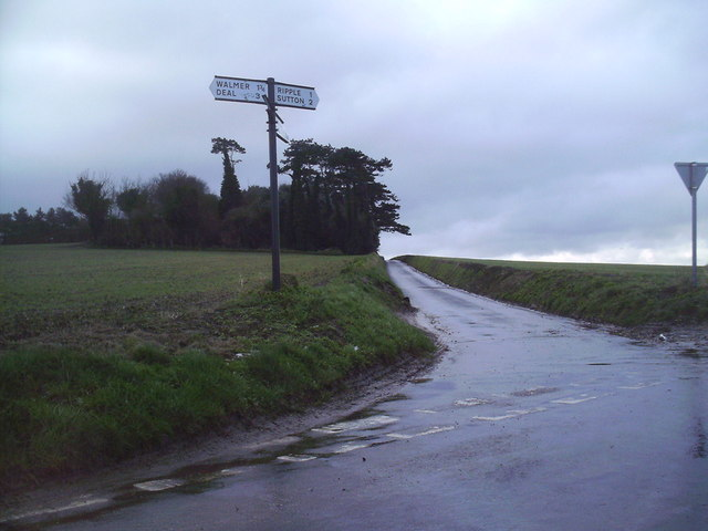 The Coldblow and Ripple Rd Cross Roads