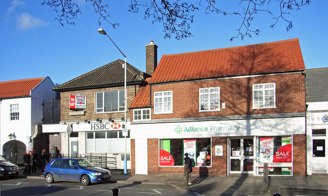 HSBC Bank and Alliance Pharmacy