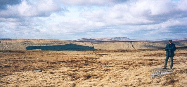 Dodd Fell summit plateau
