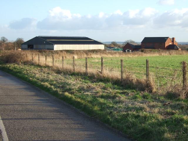New farm near Birchills