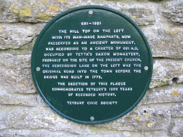 Plaque at Bath Bridge