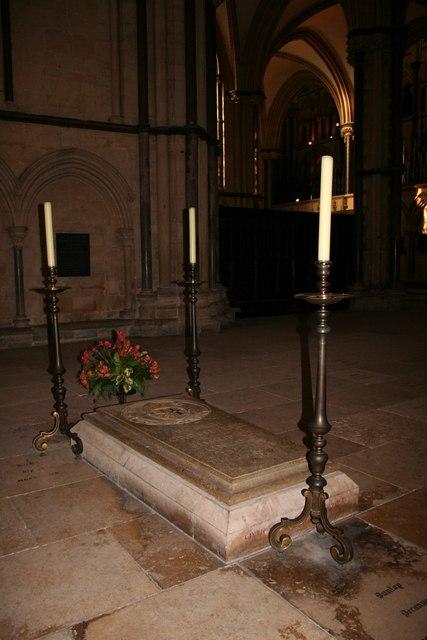 Tomb of  Bishop Grosseteste