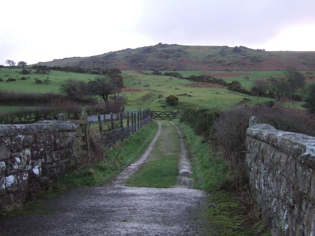 Track to Sourton Tors