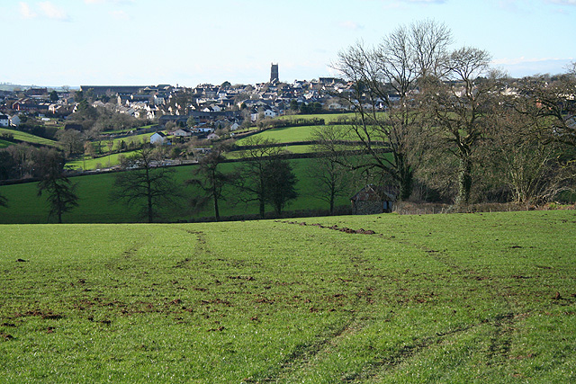 Bishop's Nympton: towards South Molton