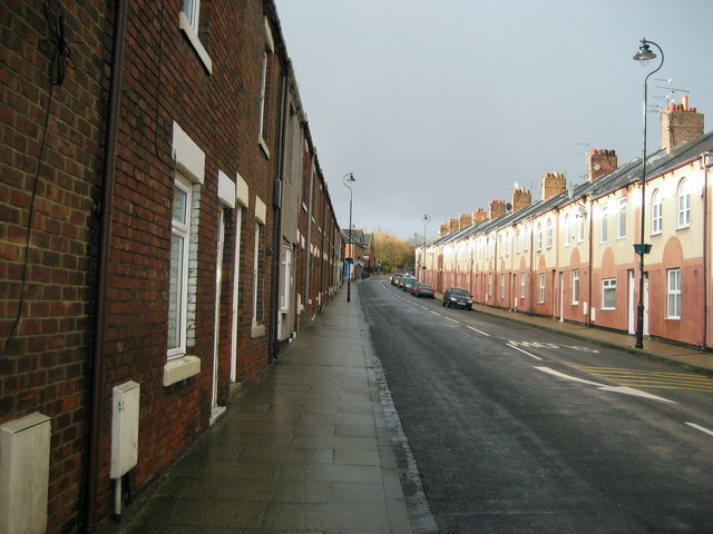 Byron Street, Easington Colliery
