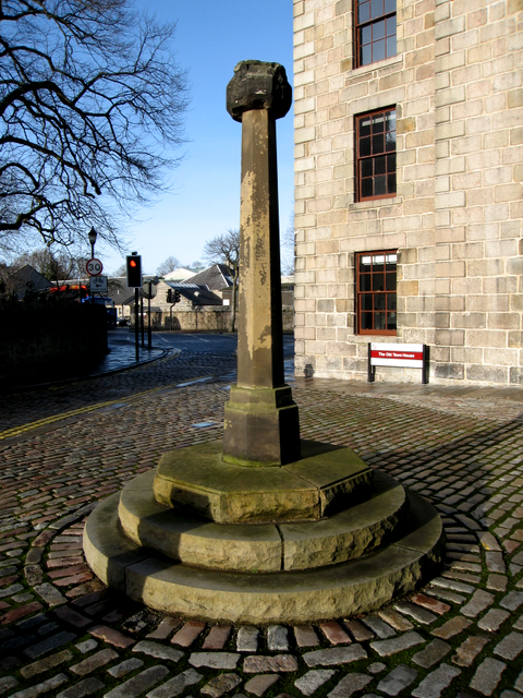 The market cross, Old Aberdeen.