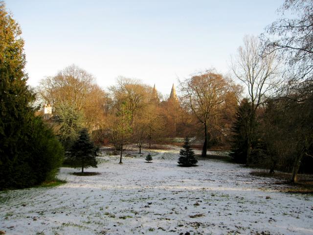 The Cruickshank Botanic Garden, Old Aberdeen.