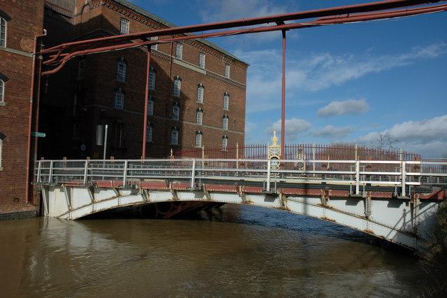 Bridge to Healings Mill, Tewkesbury