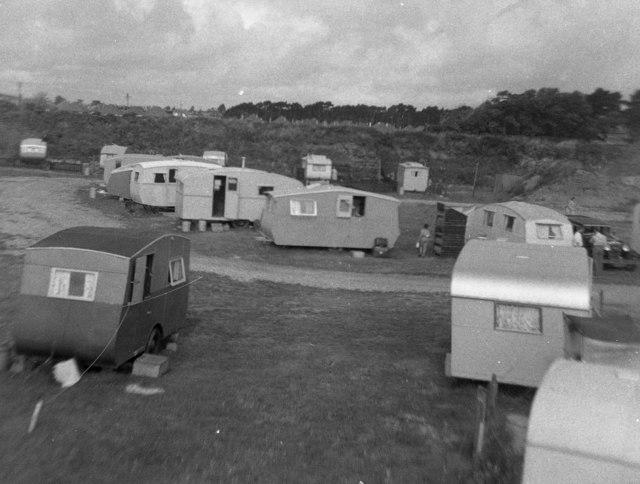 Hengist Caravan Site, near Christchurch, Hampshire