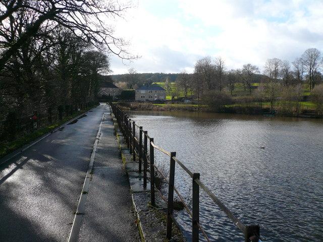 Stubbing Great Pond - View towards Malthouse Lane