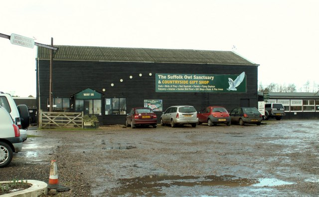 Part of Stonham Barns Craft Centre