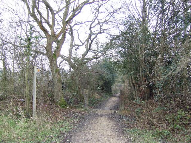Narrow byway