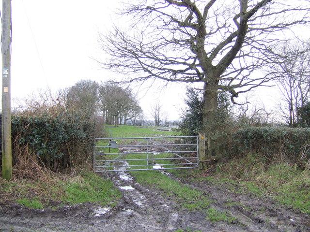 Footpath to Huggett's Furnace