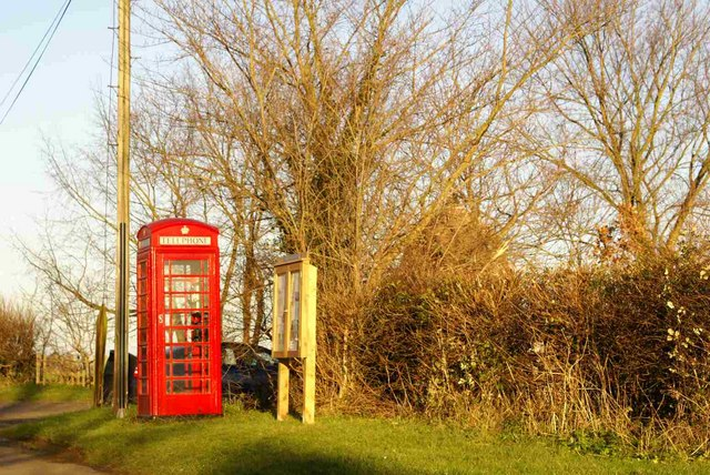 Achurch telephone box