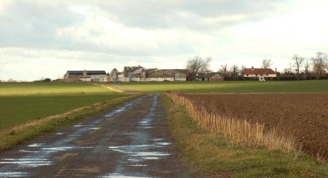 The farm at Mickfield Hall