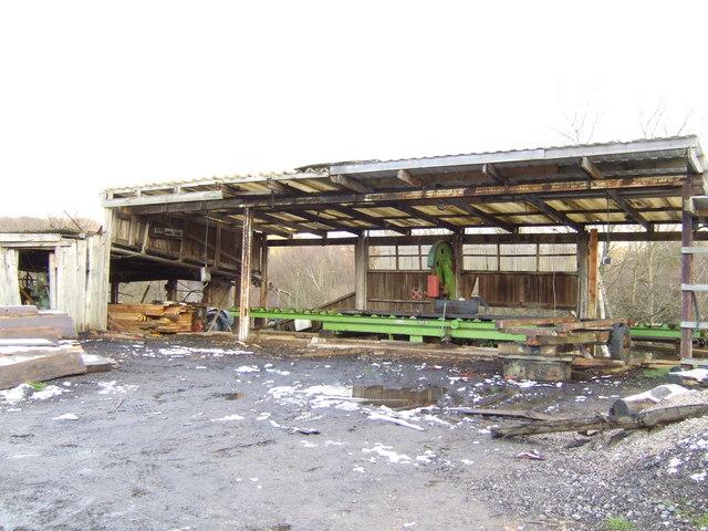 Sawmill at Newhouse Farm