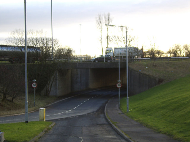 A82 Station Road underpass