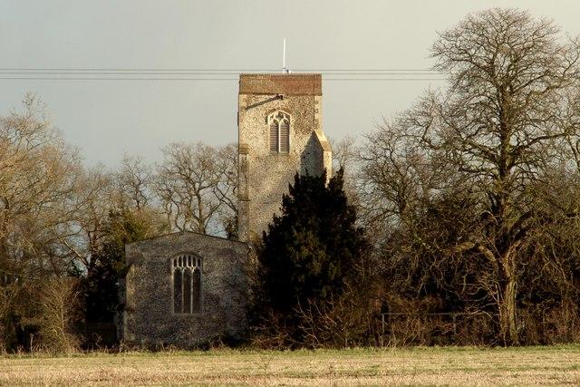 St. Andrew's church, Mickfield, Suffolk