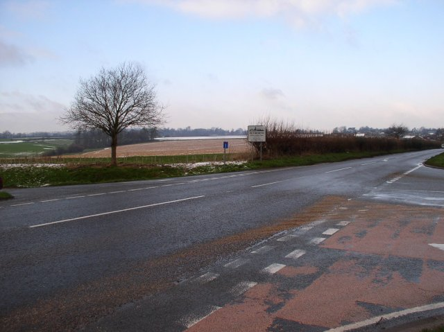 Crossroads at Haslingbourne ( A285 )