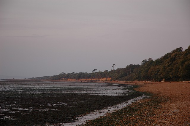 Cliffs in Stanswood Bay