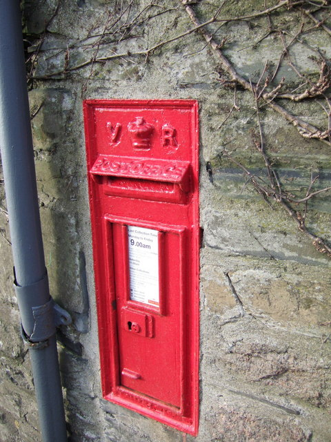 Victorian post box at Lake