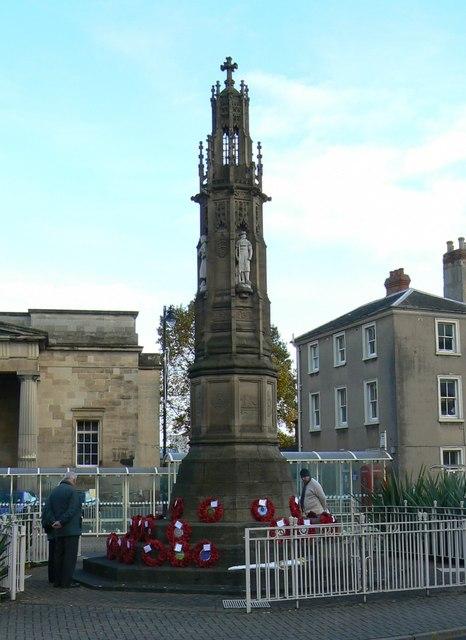 War memorial, St Owens Street, Hereford