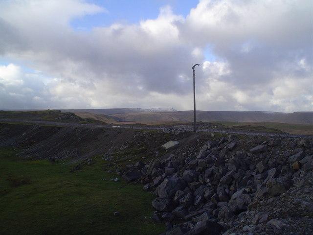 Cwar yr Ystrad (limestone quarry)