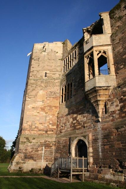Oriel Window, Newark Castle