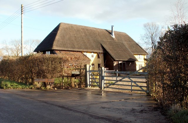 A barn conversion at Mill Green Farm