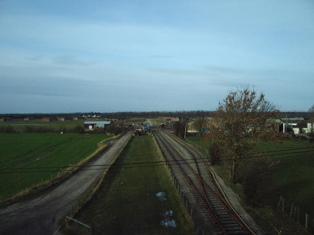 Railway at Smalmstown