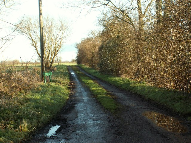 Road to Greenwood Farm